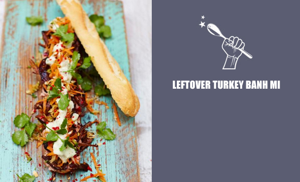 Leftover-turkey-banh-mi