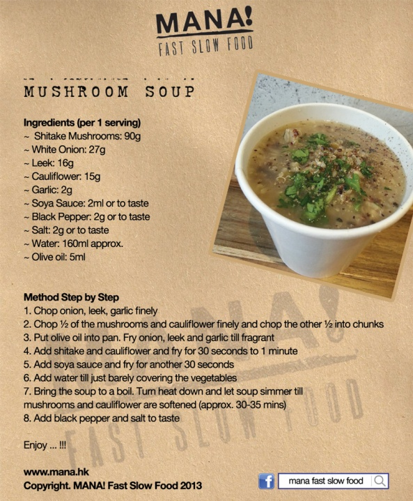 RecipeTemplate_MushroomSoup