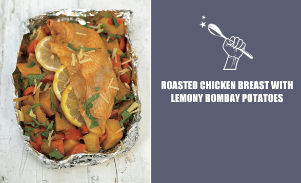 Roasted-chicken-breast-with-lemony-bombay-potatoes