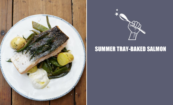 Summer-tray-baked-salmon