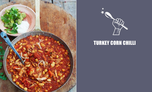 Turkey-corn-chilli