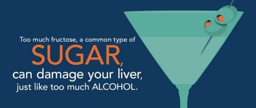 sugar vs alcohol