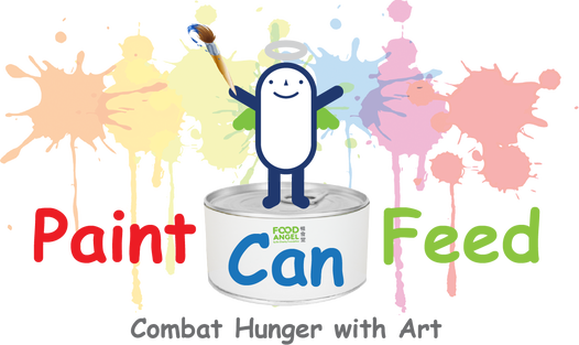Paint Can Feed Logo