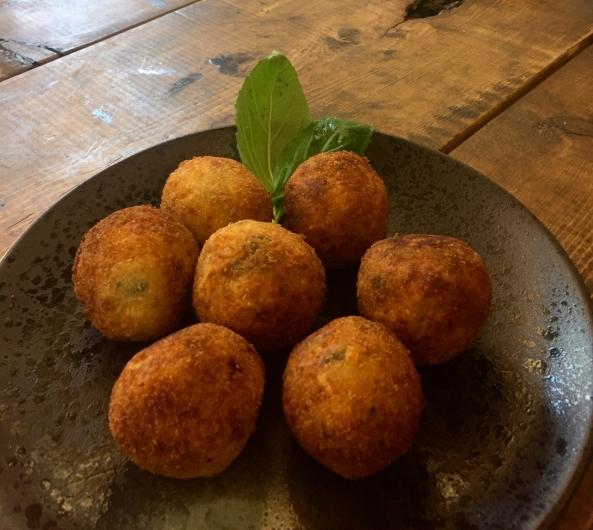 chessy potato balls